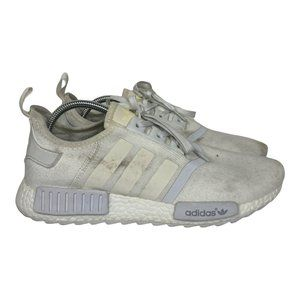 Adidas NMD White Sneakers Mens Size US11 UK11.5 3 Stripes Boost Shoes